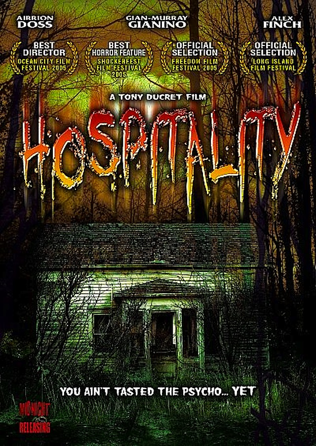 Hospitality horror movie