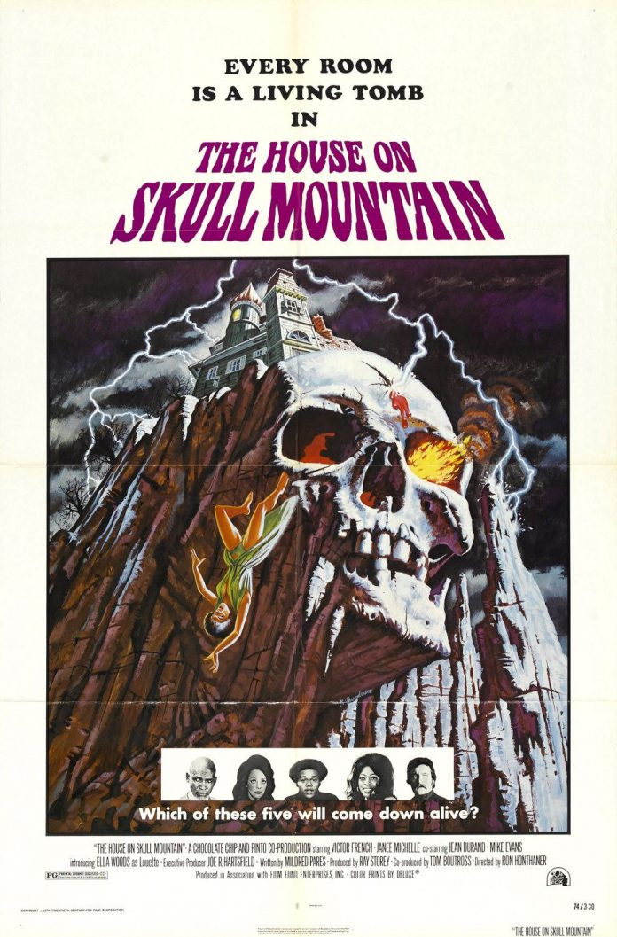 The House on Skull Mountain horror movie poster