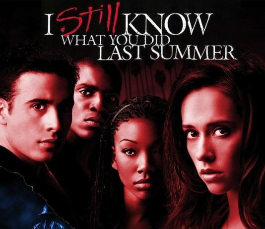 I Still Know What You Did Last Summer horror movie poster