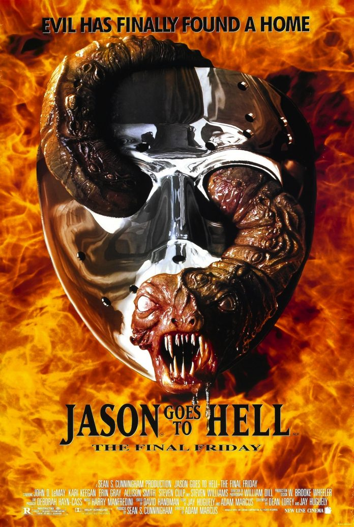 Jason Goes to Hell: The Final Friday horror movie poster