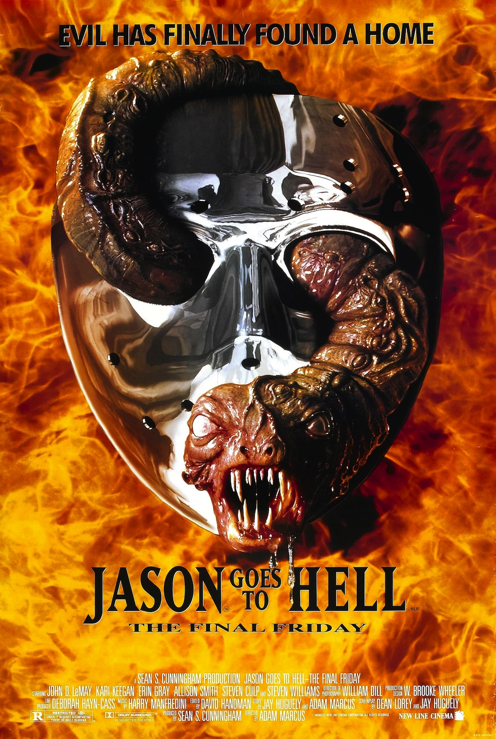Jason Goes to Hell: The Final Friday (1993) - Black Horror