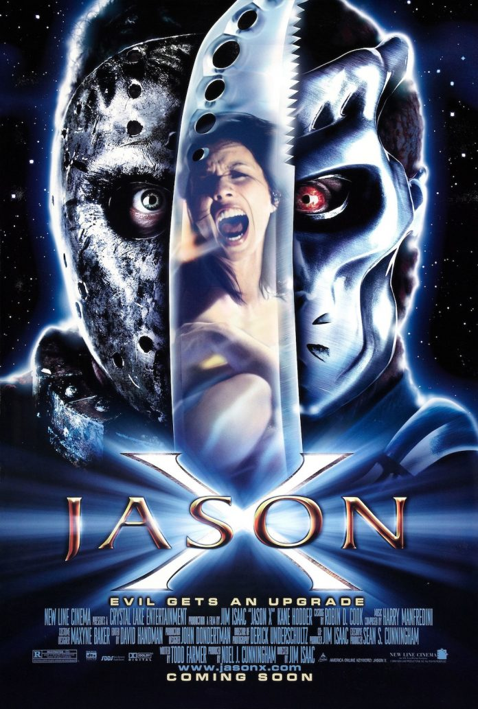 Jason X horror movie poster