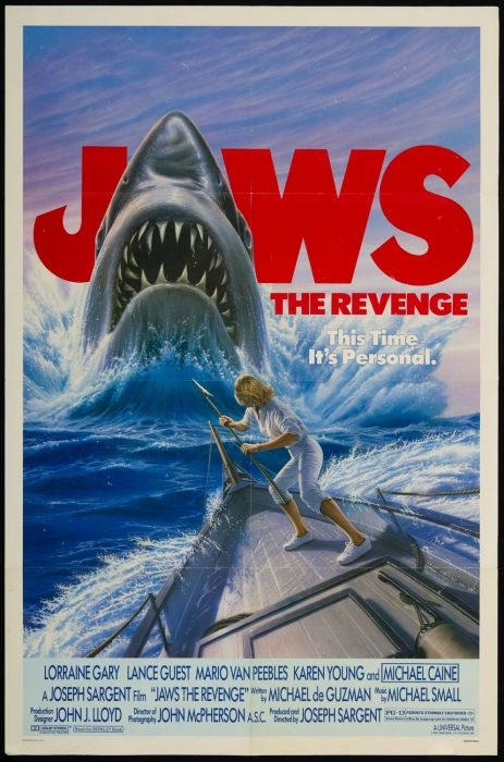 Jaws: The Revenge movie poster