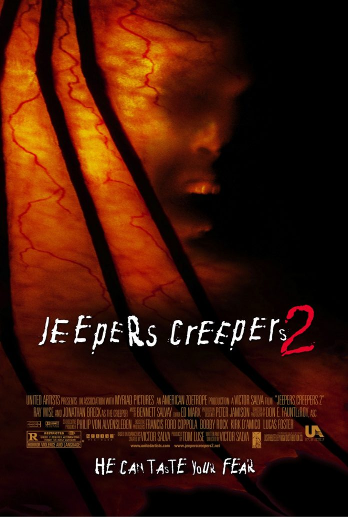 Jeepers Creepers 2 horror movie poster