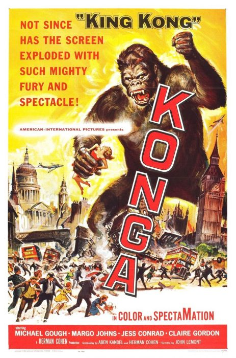 Konga horror movie poster