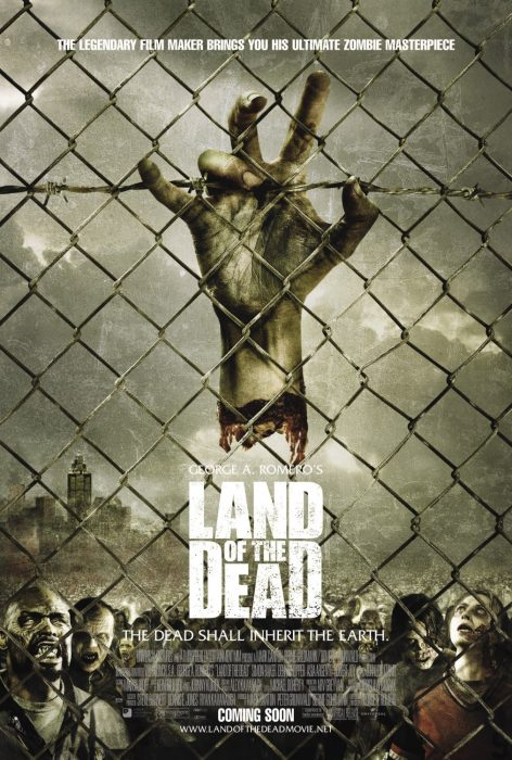 Land of the Dead horror movie poster