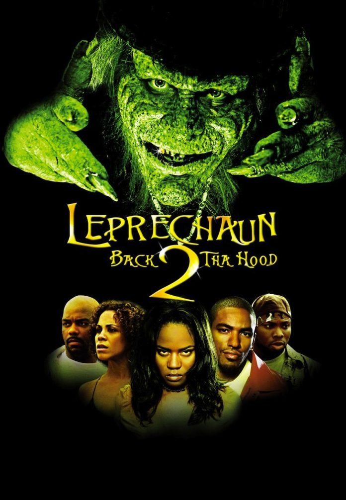 Leprechaun Back 2 tha Hood movie poster