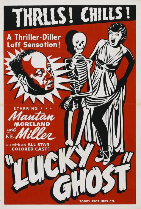 Mantan Moreland in Lucky Ghost movie poster