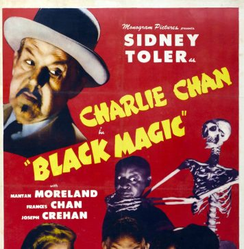 Meeting at Midnight Charlie Chan movie poster