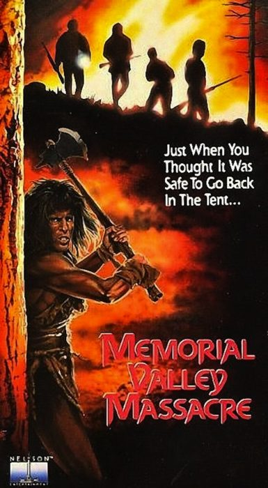Memorial Valley Massacre horror movie poster
