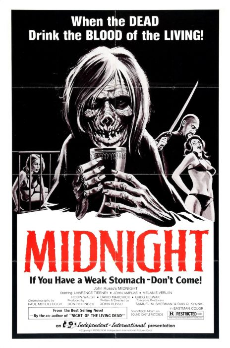 Midnight AKA The Backwoods Massacre horror movie poster