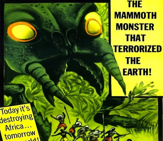 Monster from Green Hell horror movie poster