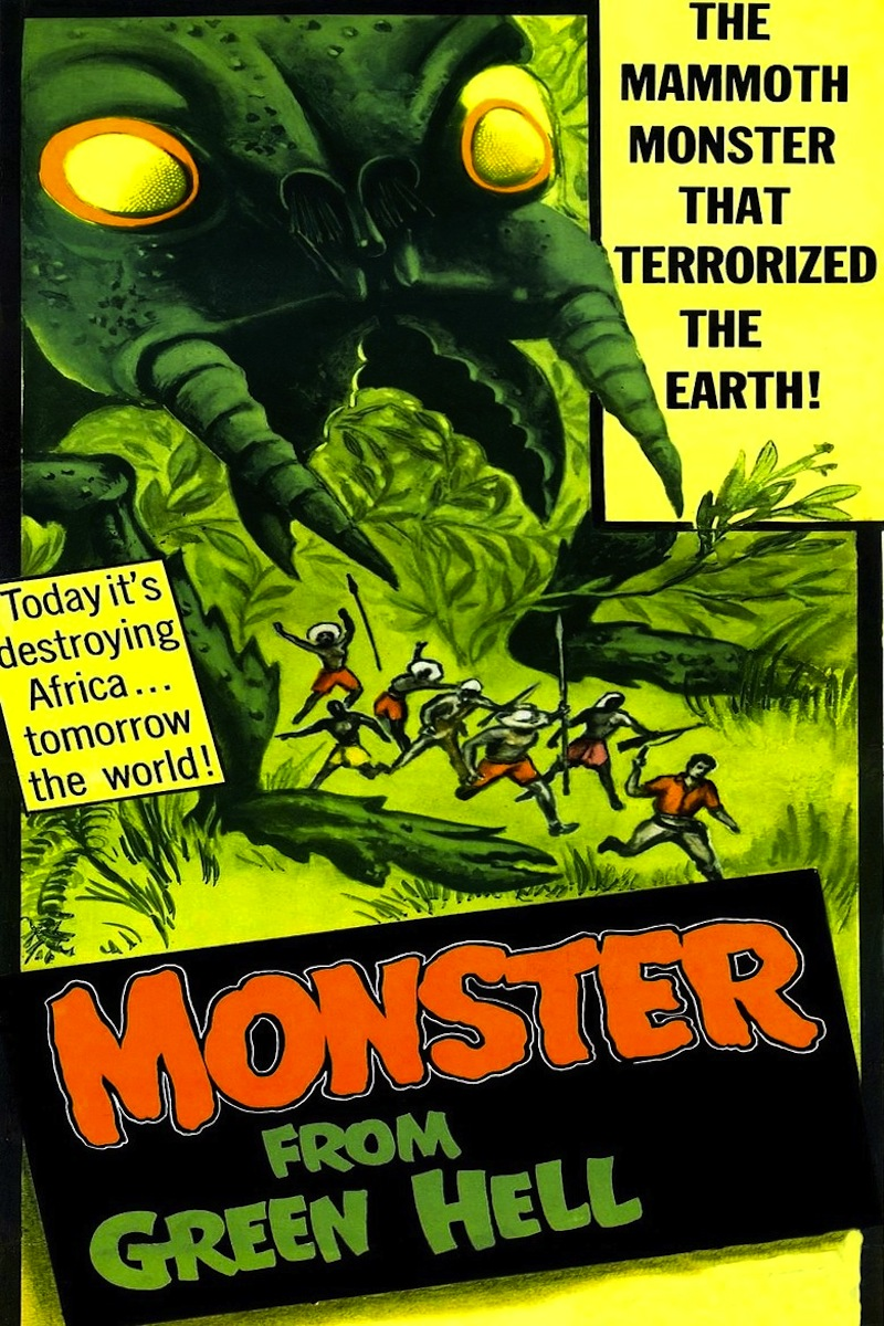 Monster From Green Hell (1958) - Black Horror Movies