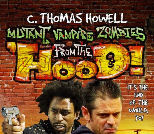 Mutant Vampire Zombies from the Hood horror movie poster