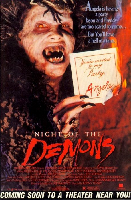 Night of the Demons horror movie poster