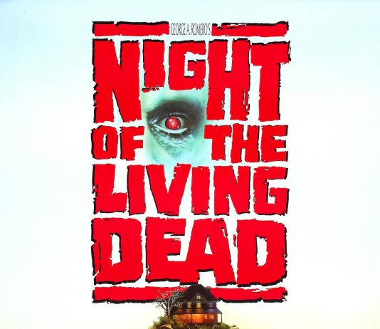 Night of the Living Dead 1990 horror movie remake poster