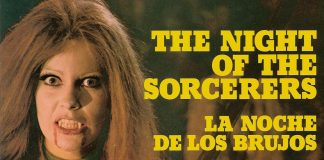 Night of the Sorcerers horror movie poster