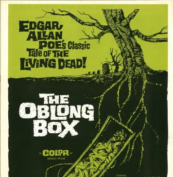 The Oblong Box horror movie poster