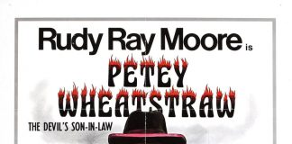 Petey Wheatstraw: The Devil's Son-in-Law horror movie poster Rudy Ray Moore blaxploitation