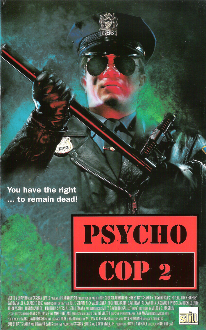 Psycho Cop 2 horror movie