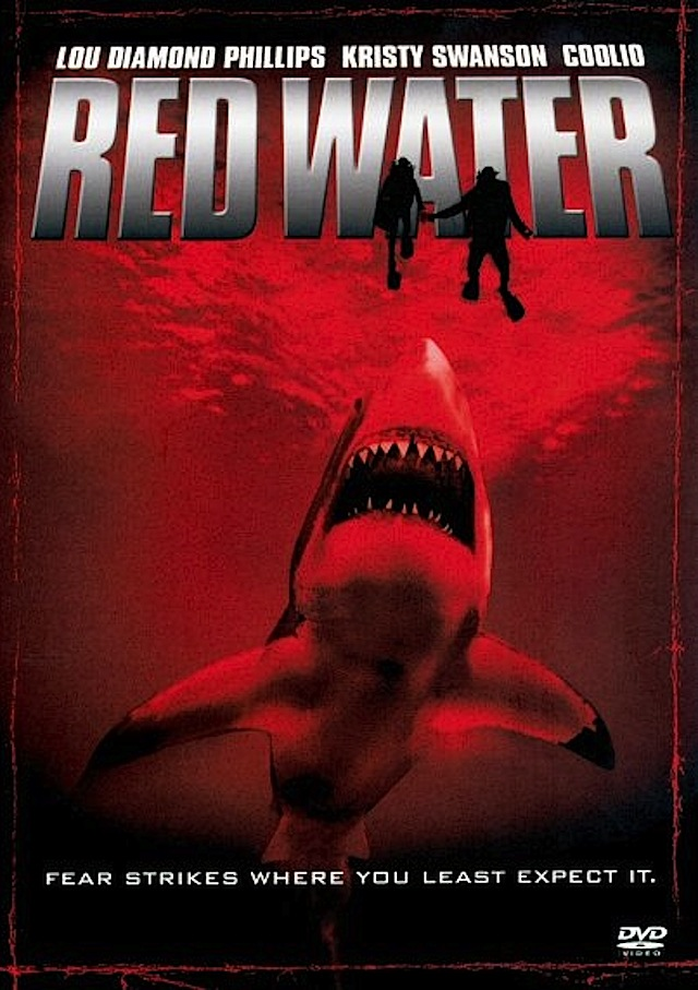 Red Water horror movie poster