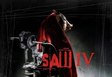 Saw IV horror movie poster