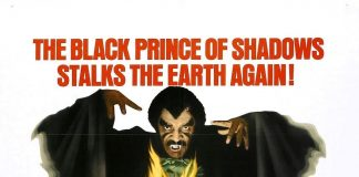 Scream Blacula Scream horror movie poster