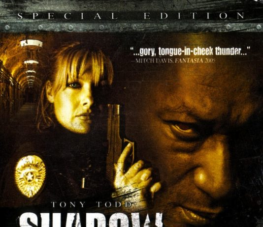 Shadow: Dead Riot horror movie poster