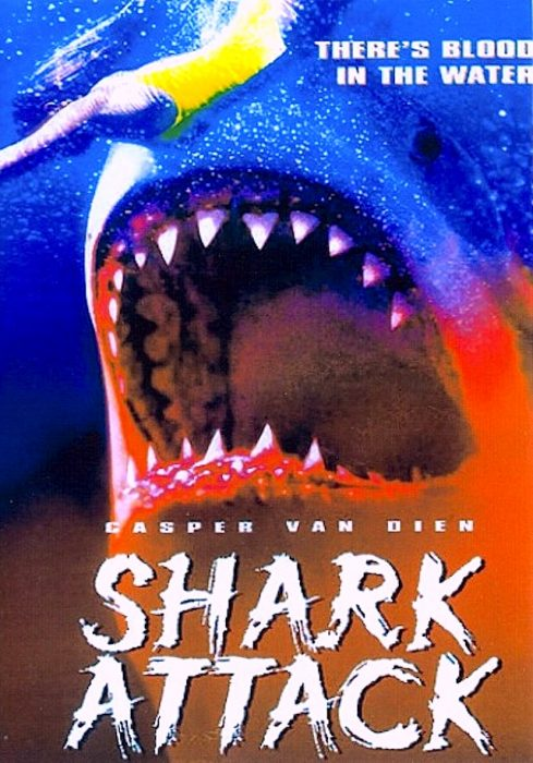 Movie poster for Shark Attack