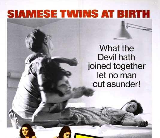Brian De Palma's Sisters horror movie poster