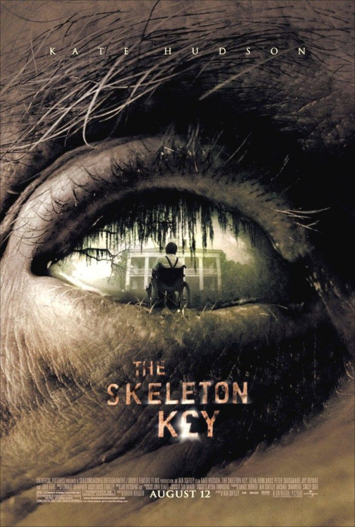 The Skeleton Key horror movie poster Kate Hudson voodoo hoodoo