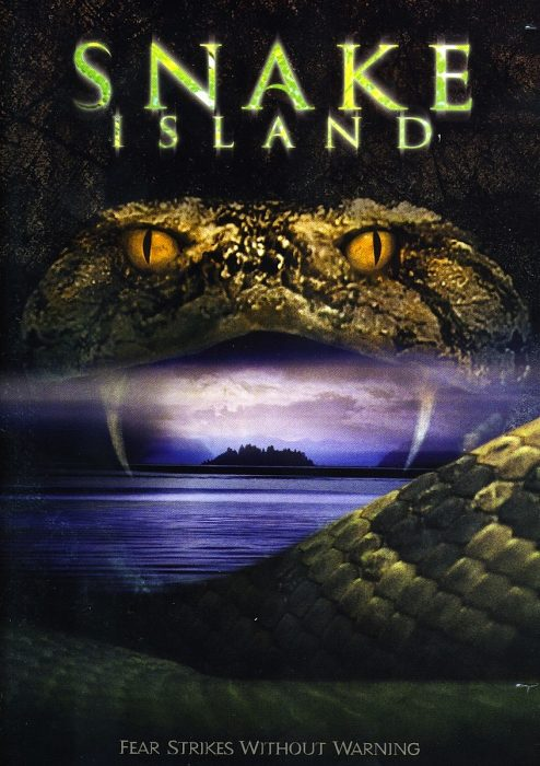 Snake Island horror movie poster