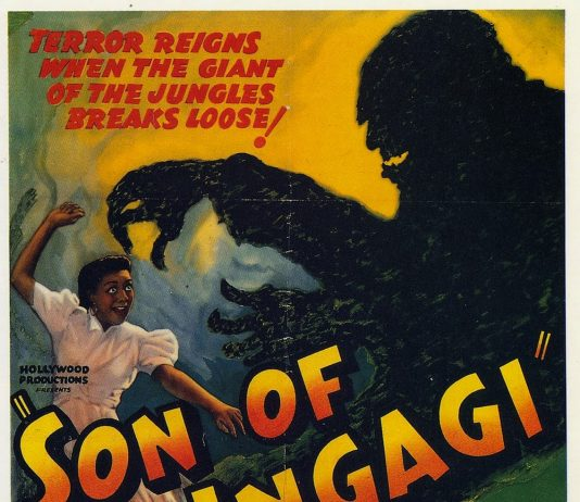 Son of Ingagi horror movie poster