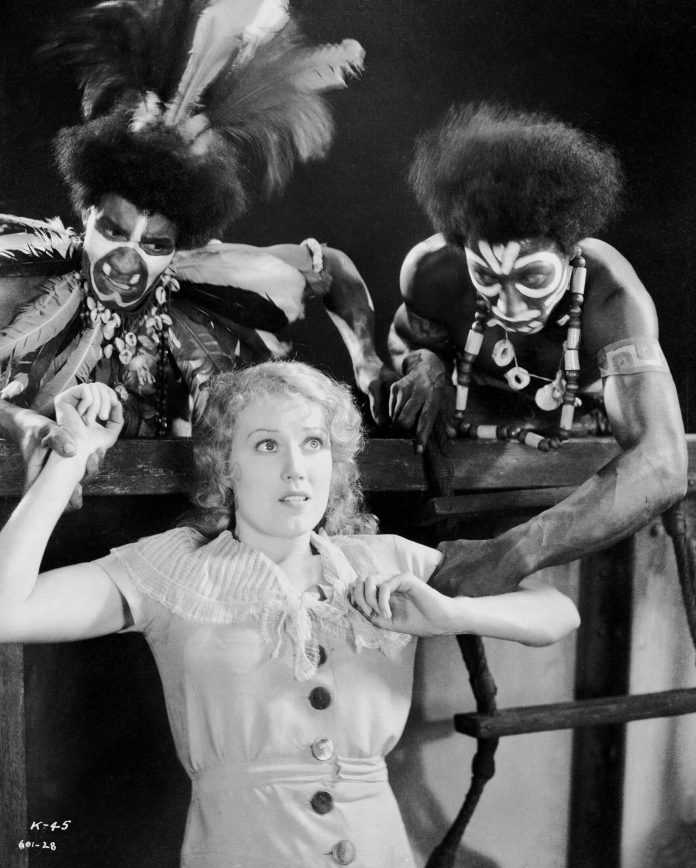 Primitives with Fay Wray in King Kong