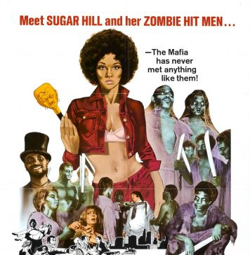 Sugar Hill blaxploitation horror movie poster