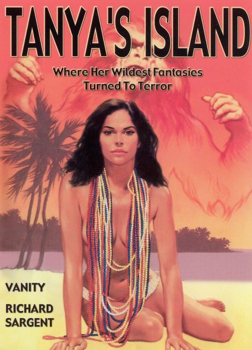 Vanity in Tanya's Island movie poster