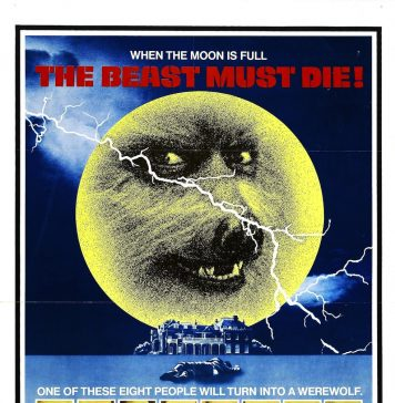 The Beast Must Die horror movie poster