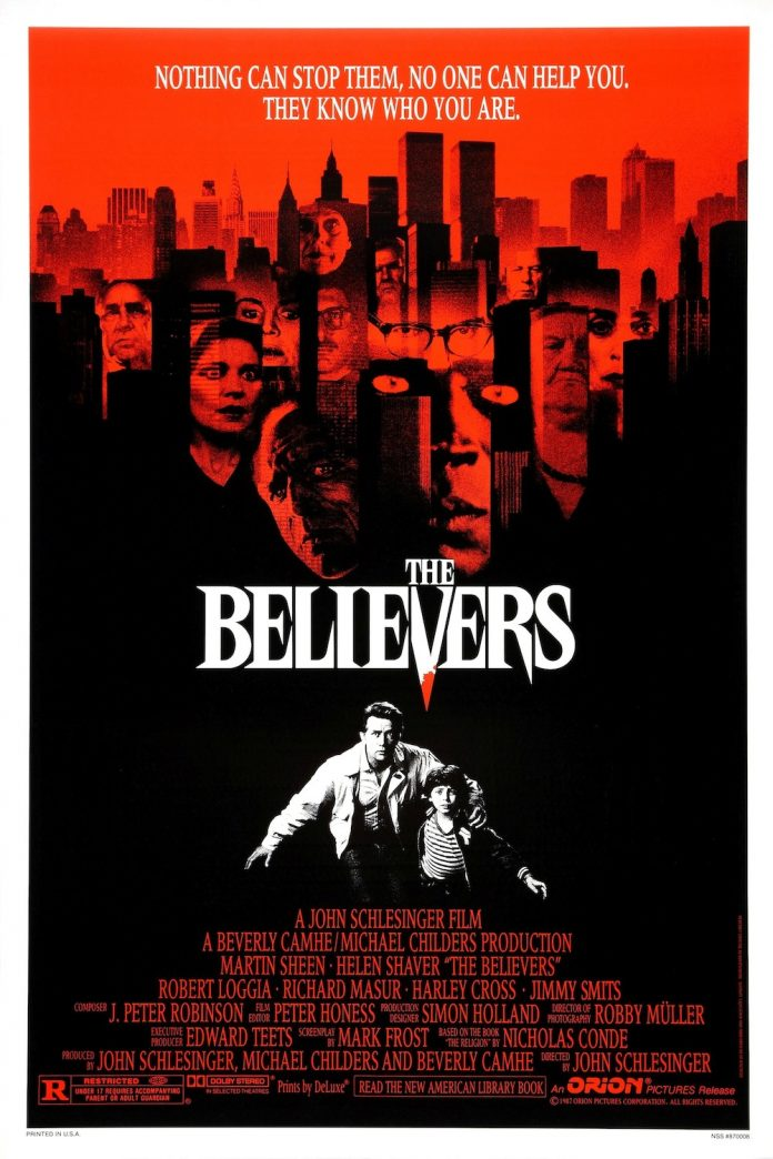 The Believers horror movie poster