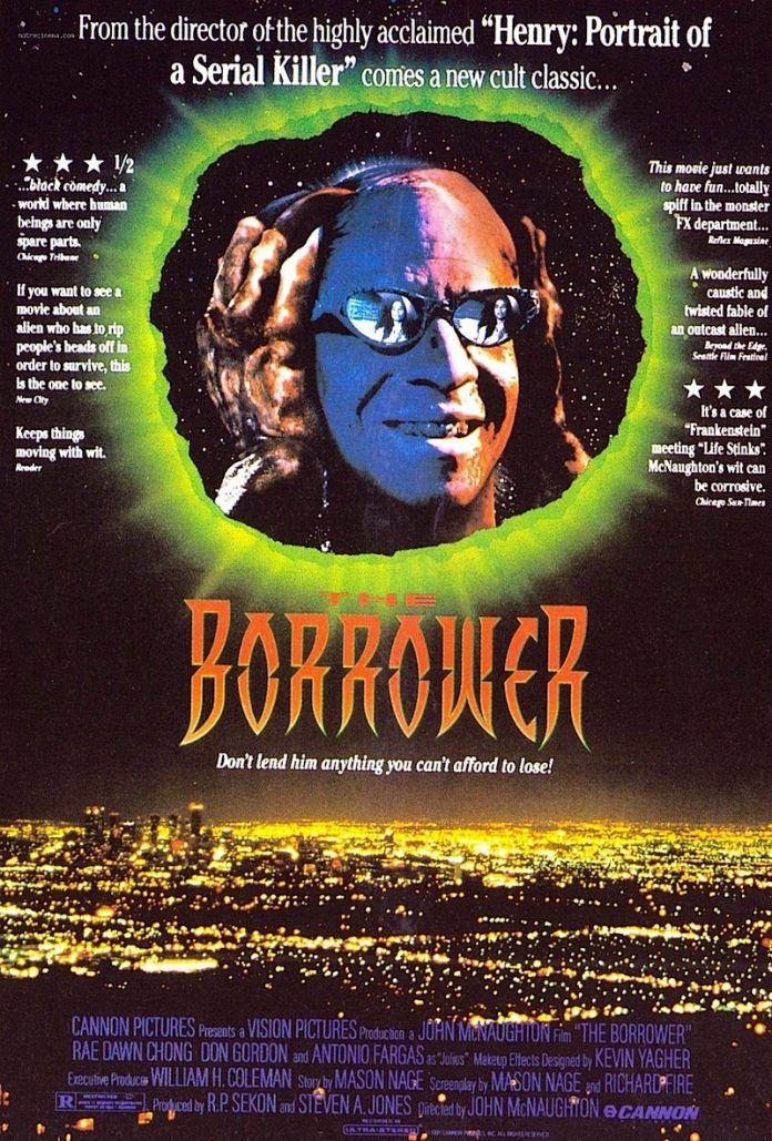 The Borrower horror movie poster
