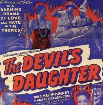 The Devil's Daughter horror movie poster