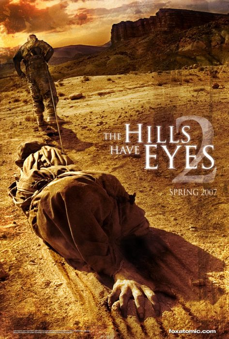 The Hills Have Eyes 2 horror movie poster