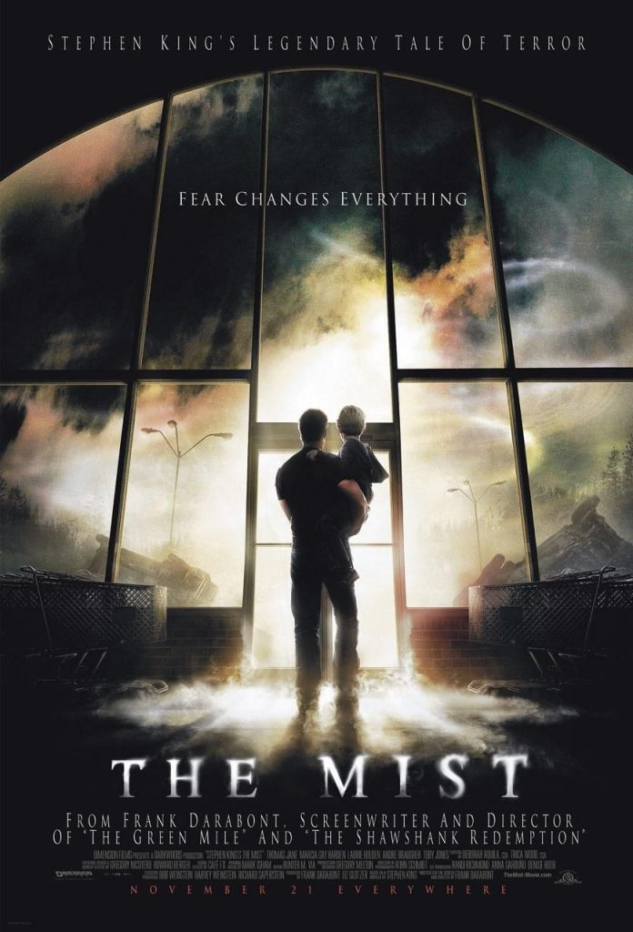 The Mist horror movie poster