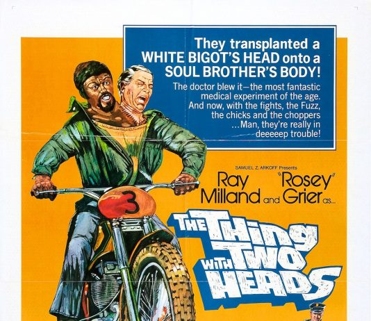 The Thing with Two Head movie poster