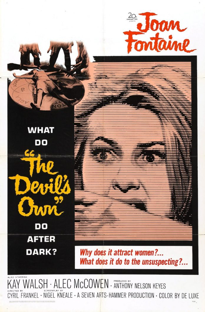 The Witches The Devil's Own horror movie poster