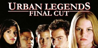 Urban Legends: Final Cut horror movie poster