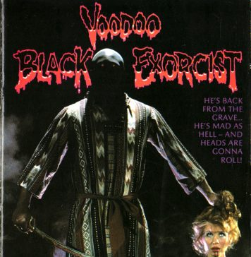 Black Voodoo Exorcist horror movie poster