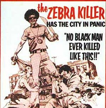 The Zebra Killer movie poster