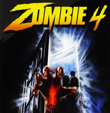 Zombie 4 horror movie poster