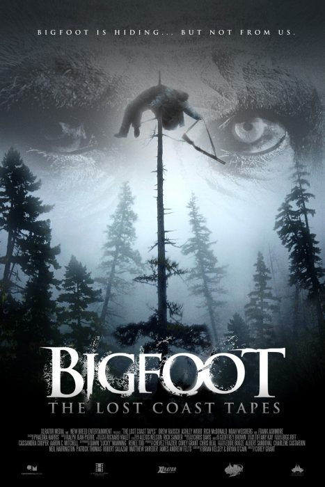 Bigfoot: The Lost Coast Tapes horror movie poster