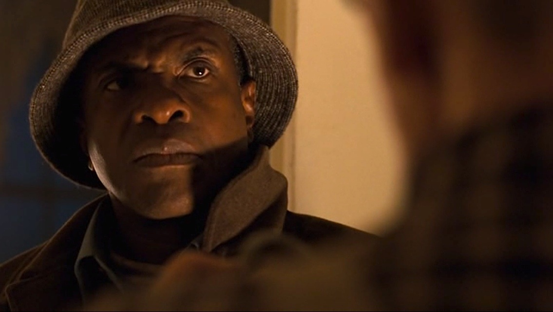Keith David in the horror movie Chain Letter